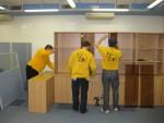 Разборка мебели при переезде офиса